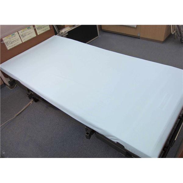 寝具 萬楽 シーツ・防水シーツ 透湿ボックス型全面防水シーツ (2)91幅 サックス MR-2024