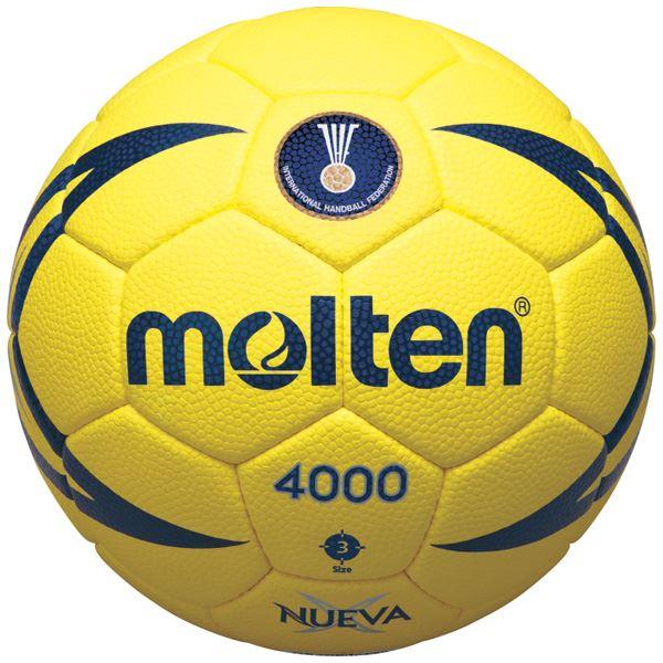 アウトドア・スポーツグッズ 関連商品 モルテン(Molten) ハンドボール3号球 ヌエバX4000 H3X4000