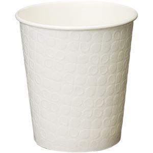 キッチン・食器 (まとめ) 日本デキシー ホワイト断熱カップ 250ml(8.5オンス) KHCD75LW 1パック(10個) 【×40セット】