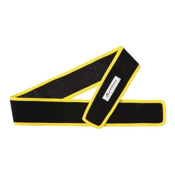 スポーツ・アウトドア スポーツウェア・アクセサリー 関連 ファイテン(PHITEN)スポーツベルト ブラック×イエロー