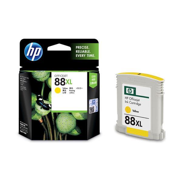 パソコン・周辺機器 (まとめ) HP88 インクカートリッジ イエロー C9393A 1個 【×3セット】