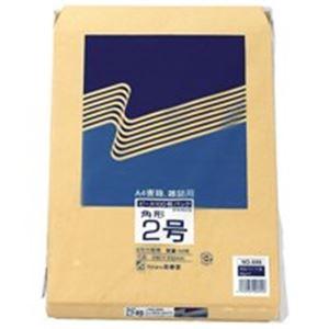 生活用品・インテリア・雑貨 (業務用30セット) 高春堂 クラフト封筒 695 角2 100枚 【×30セット】