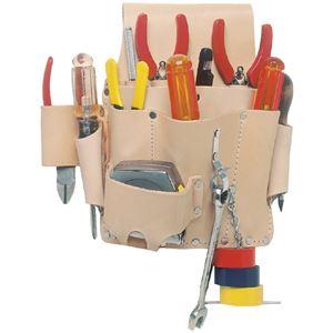 DIY・工具 工具収納 工具箱 関連 EL-809 腰袋片側