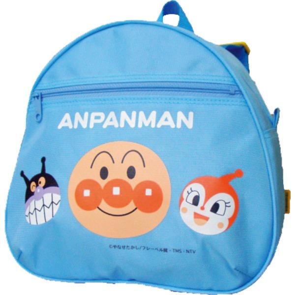 バッグ関連商品 アンパンマンDバッグ リュック【キッズ】【2個セット】【ブルー】