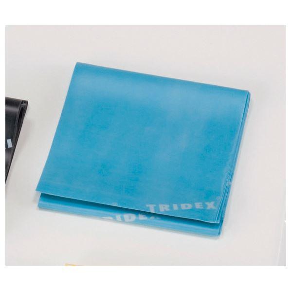 健康器具 (まとめ)淡野製作所 リハビリ用品 フリーバンド (4)ブルー D5672【×3セット】