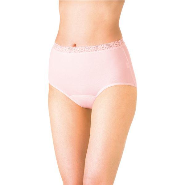 衛生用品 (まとめ)ピジョン 失禁パンツ かるる60mlショーツタイプ L ピンク 11462【×2セット】