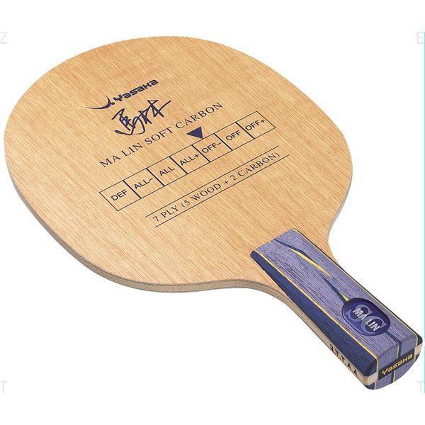卓球ラケット 関連商品 シェークラケット MALIN SOFT CARBON STR(馬林ソフトカーボン MSC-1 ストレート) YM11