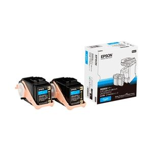 エプソン ページプリンター用 環境推進トナー/シアン/Mサイズ2本パック(6500ページ×2) LPC3T31CPV
