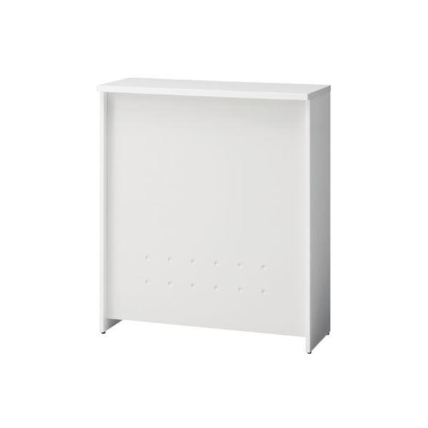 インテリア・寝具・収納 オフィス家具 関連 ハイカウンター BF-09H W4/W4 ホワイト