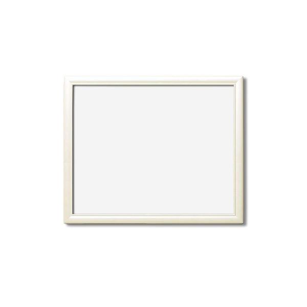 絵画 関連商品 【額縁・絵画額・水彩額】壁掛けひも・アクリル付 ■5590デッサン額(ホワイト) 半切サイズ(545×424mm)