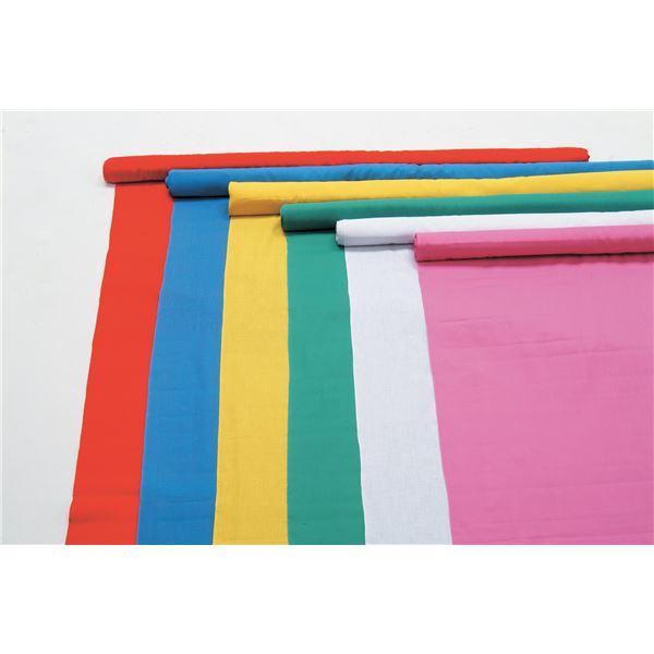 日用品雑貨 便利 日用雑貨 (まとめ買い)カラー布 110cm幅 2m切売 白 【×5セット】