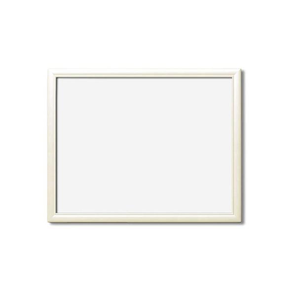 絵画 関連商品 【額縁・絵画額・水彩額】壁掛けひも・アクリル付 ■5590デッサン額(ホワイト) 三三サイズ(606×455mm)