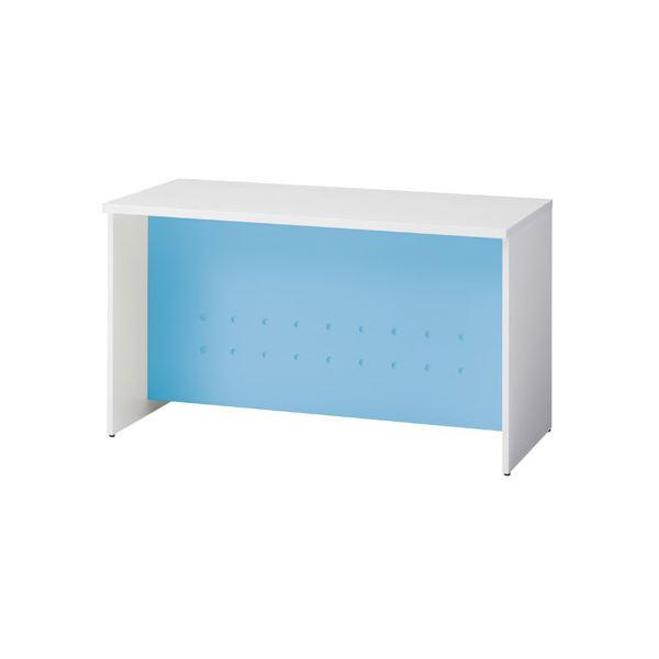 インテリア・寝具・収納 オフィス家具 関連 ローカウンター BF-12L W4/Z5 ブルー