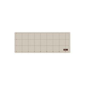 文具・オフィス用品 (業務用50セット) オルファ カッターマット 206B A3グレー/茶 ハーフ 【×50セット】