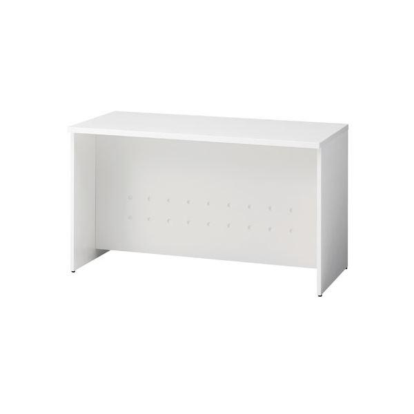 インテリア・寝具・収納 オフィス家具 関連 ローカウンター BF-12L W4/W4 ホワイト