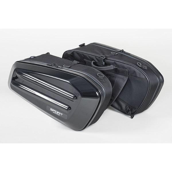 バイク用品 バッグ・ケース パニアケース・サイドボックス 関連 スポルトシェルケース(ブラック) MFK-217