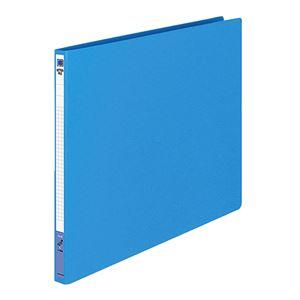 文具・オフィス用品 (まとめ) コクヨ レターファイル(色厚板紙) A3ヨコ 120枚収容 背幅20mm 青 フ-558B 1冊 【×10セット】