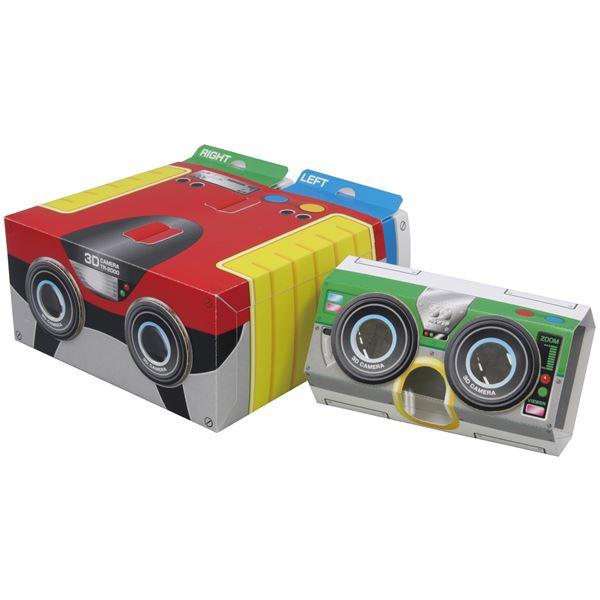 日用品雑貨 生活日用品 雑貨 (まとめ買い)3Dカメラ組立キット(化粧箱) 【×5セット】