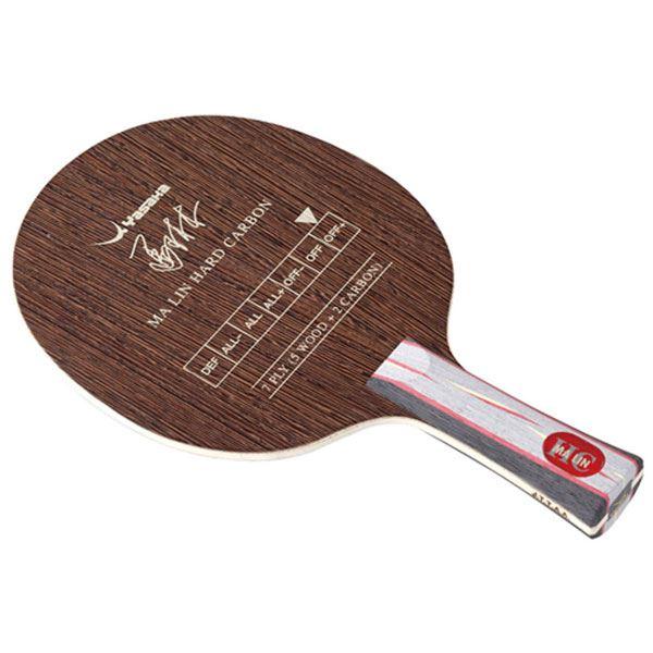 卓球ラケット 関連商品 シェークラケット MALIN HARD CARBON FLA(馬林ハードカーボン MHC-3 フレア) YM63