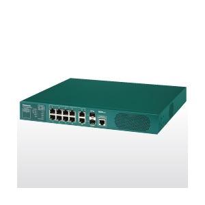 パナソニックESネットワークス PoE Plus対応 8ポートL2スイッチングハブ Switch-M8eGPWR+ PN28089K