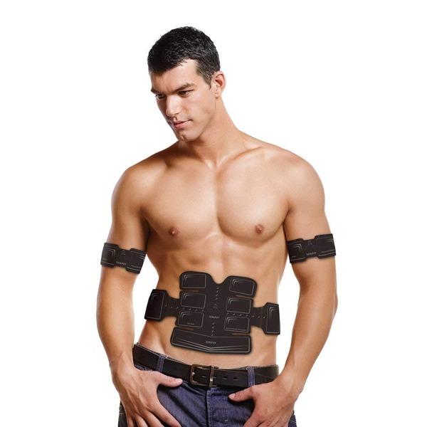 ダイエット器具関連 アクティブパッド EMS 腹筋ベルト 段階パワー ボディ用 貼るだけトレーニング