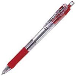 文具・オフィス用品 (業務用300セット) ゼブラ ZEBRA ボールペン タプリクリップ 0.7mm BN5-R 赤 【×300セット】