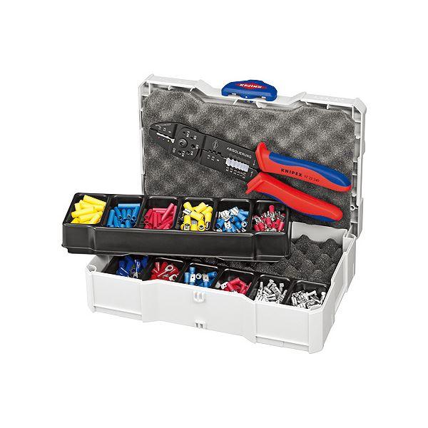DIY 工具 手動工具 締付工具 スポーツ レジャー DIY 工具 ペンチ 圧着ペンチ 関連 頑丈なプラスチックケース入り圧着ペンチセット 9790-25 圧着ペンチセット