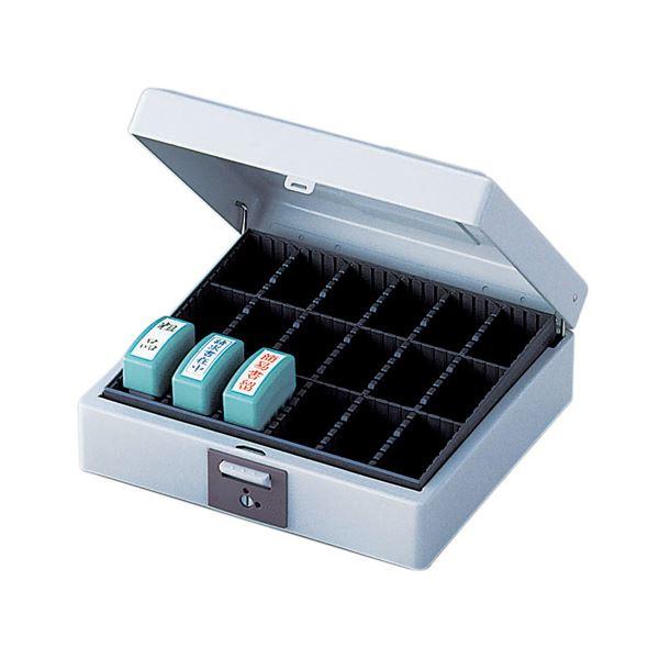 文房具・事務用品 関連 (まとめ買い) スチール印箱 大型 IBS-03 1個 【×2セット】