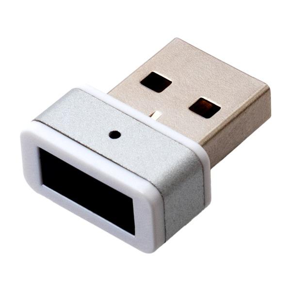 USB指紋認証アダプタ ホワイト USE-FP01/WH
