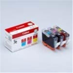 (業務用10セット) Canon(キャノン) インクカートリッジ BCI-7e3MP 3色 【×10セット】