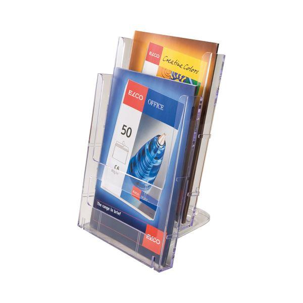 文房具・事務用品 関連 (まとめ) TANOSEE カタログケース 連結式 A4 1セット(3個) 【×4セット】