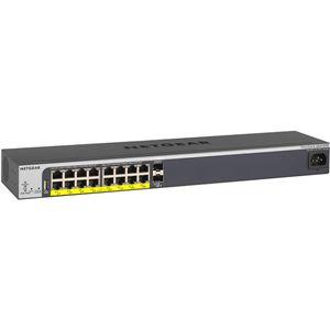 パソコン・周辺機器 ネットワーク機器 関連 家電関連商品 NETGEAR Inc. GS418TPP 【ライフタイム保証】 イージーマウント PoE+(240W) ギガ16P L2+スマートスイッチ