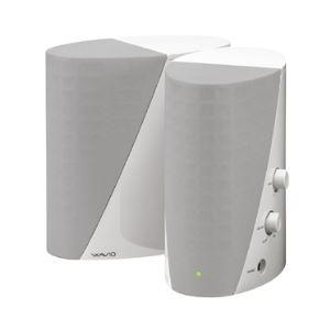 AV・デジモノ オンキヨー(オーディオ機器) パワードスピーカーシステム 6W+6W (プラチナホワイト) GX-R3X(W)