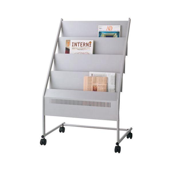 インテリア・寝具・収納 オフィス家具 関連 マガジンスタンド NMS-340 3列4段