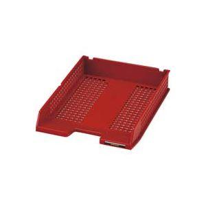 文房具・事務用品 関連 (業務用30セット) セキセイ シストレー A4 STX-60-20 赤 【×30セット】