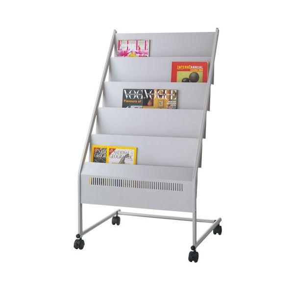 インテリア・寝具・収納 オフィス家具 関連 マガジンスタンド NMS-350 3列5段
