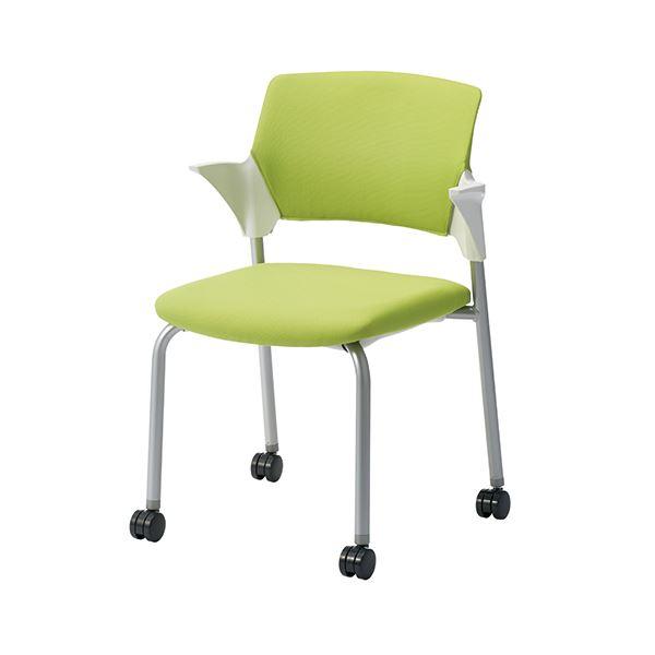 オフィス家具 オフィスチェア 会議用チェア 関連 会議イス CM551-MYC グリーン