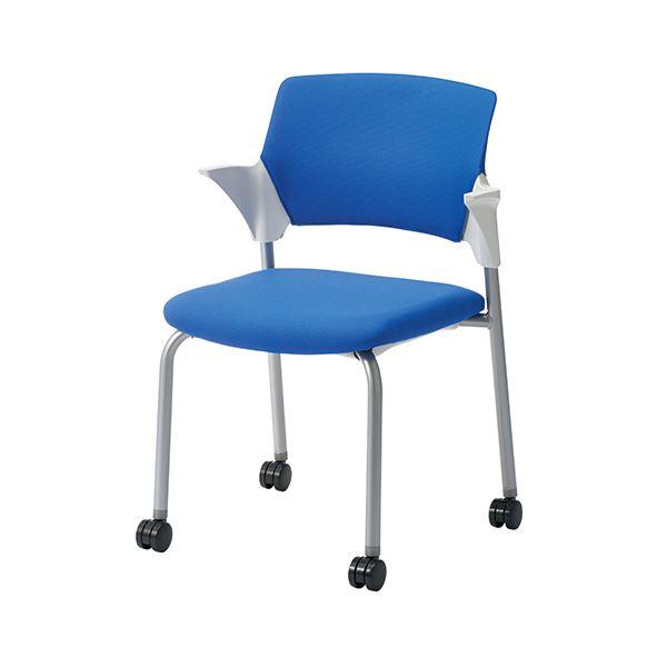 オフィス家具 オフィスチェア 会議用チェア 関連 会議イス CM551-MYC ブルー