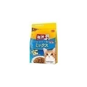 猫用品 キャットフード・サプリメント 関連 (まとめ)日本ペットフード ミオドライミックス かつお味 1.2Kg【猫用・フード】【ペット用品】【×9セット】