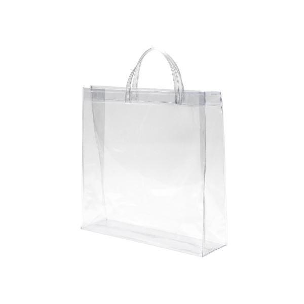 生活日用品 シモジマ 透明バッグ 大 10枚入 006464010