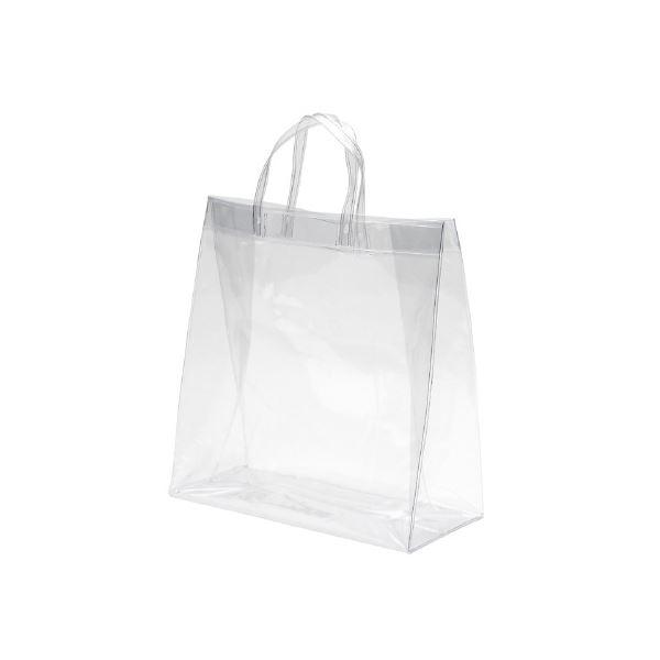 シモジマ 透明バッグ 中 10枚入 006464030
