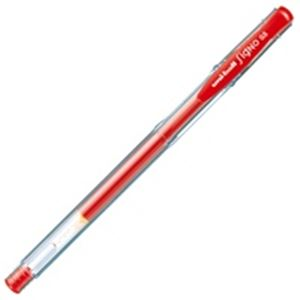 文具・オフィス用品 (業務用500セット) 三菱鉛筆 シグノエコライター 0.5mm UM-100EW.15 赤 【×500セット】