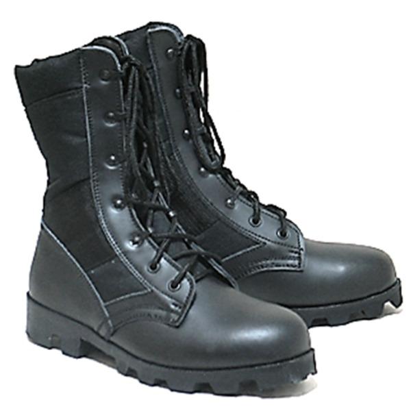 ブーツ・靴 関連商品 スピードレース つま先メタル入り ジャングルブーツ 7W(26cm)