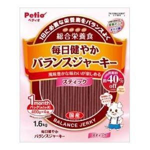 犬用品 ドッグフード・サプリメント 関連 (まとめ)ヤマヒサ 毎日健やかバランスJスティック 1.6kg【犬用・フード】【ペット用品】【×8セット】
