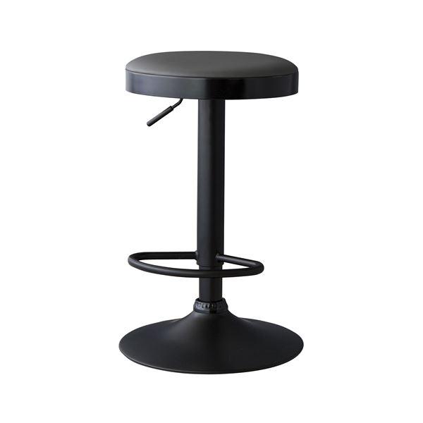 椅子 関連商品 (2脚セット) カウンタースツール ブラック RKC-270BK
