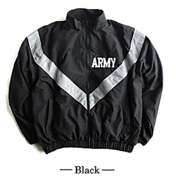 トップス関連商品 US ARMY 防風撥水加工大型リフレクタージャケットレプリカ ブラック M