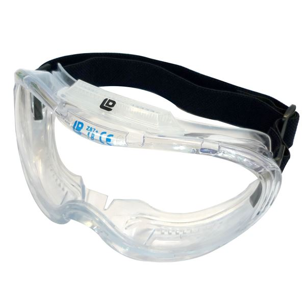 DIY・工具 安全・保護用品 安全帯 関連 (業務用25個セット) DBLTACT セーフティゴーグル 【クリア】 DT-SG-05C