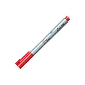 文房具・事務用品 筆記具 関連 (業務用300セット) 寺西化学工業 ラッションサインペン 赤 MRSS-T2 【×300セット】