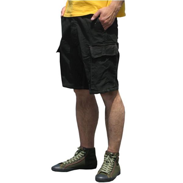 スポーツ・アウトドア アウトドア ウェア レインウェア 関連 山岳猟兵用登山パンツドイツ連邦国軍モルスキンショートパンツ後染めブラック Gr7(84cm) 【レプリカ】