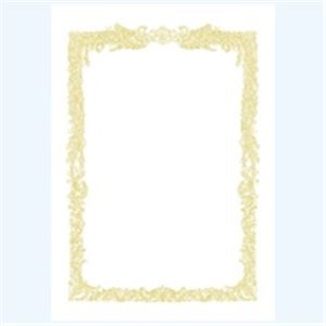 生活日用品 (業務用100セット) タカ印 賞状用紙 10-1061 A4 横書 10枚
